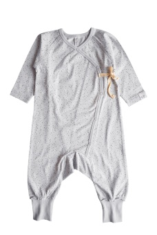 Love Playsuit - Light Grey - By Heritage