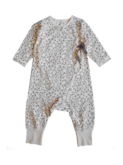 Love Playsuit - Offwhite - By Heritage