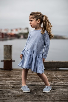Lovisa Dress - Chambray - By Heritage