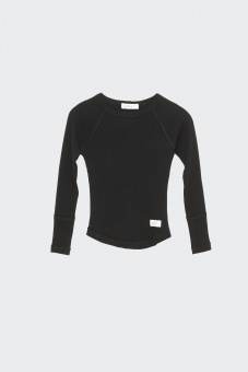 Ly Longsleeve tee - Black - I Dig Denim