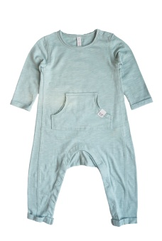 Oliver Playsuit - Mint - By Heritage