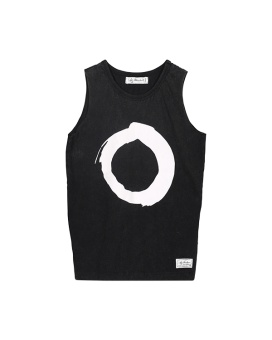 Plum Singlet - Black - I Dig Denim