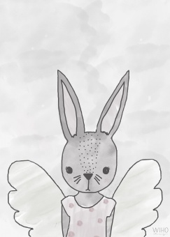 Ru the rabbit - Wiho Design