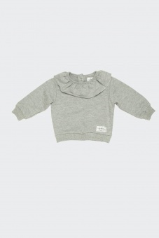 Rise Sweater - Grey Melange - I Dig Denim