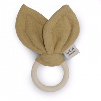 Teething Ring Groa - Mustard - Saga Copenhagen