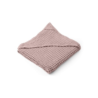 Saga Hooded Towel - Rose - Liewood