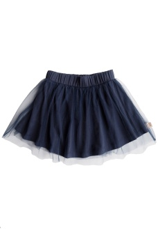Sally Skirt - Navy Blue - By Heritage