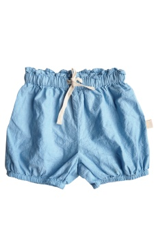 Sanna Shorts - Chambray Blue - By Heritage