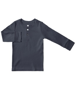 Kids Pyjamas Top - Midnight Blue - The Sleepy Collection