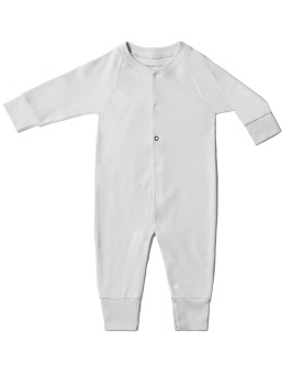 Baby Sleepsuit - Grey - The Sleepy Collection