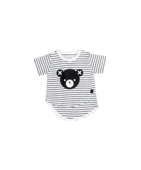 Stripe Asymmetric T-Shirt - Huxbaby