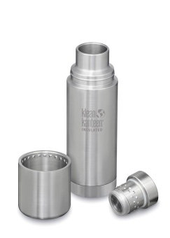 Termos TKPro 500 ml - Brushed Steel - Klean Kanteen
