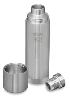 Termos TKPro 1000 ml - Brushed Steel - Klean Kanteen