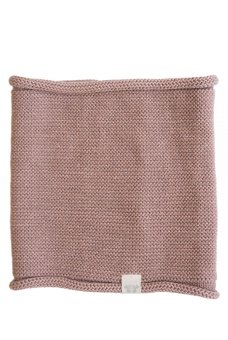 Trevor Knitted Neck Tube - Old Pink - By Heritage