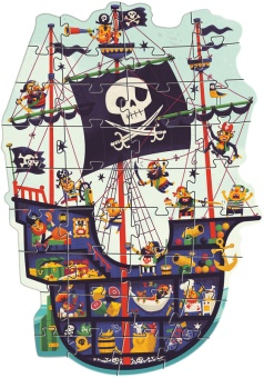 Golvpussel - The Pirate Ship - Djeco