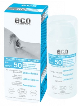 Sollotion Neutral - SPF 50 - Eco Cosmetics