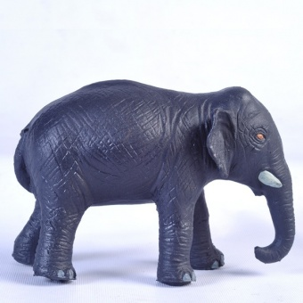 Elefant - Green Rubber Toys