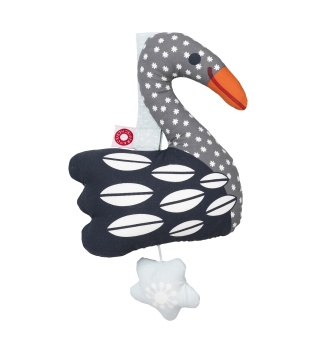 Else Swan Musical Toy - Dark - Franck & Fischer