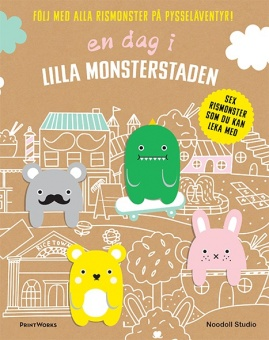 En dag i lilla monsterstaden