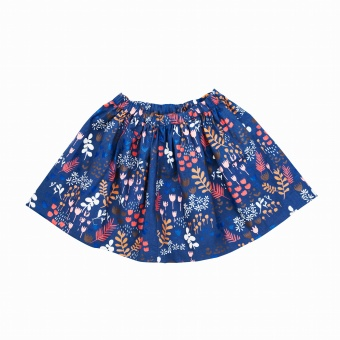Flower Meadow Night - Skirt - Tiny Rym