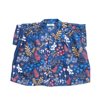 Flower Meadow Night - Blouse - Tiny Rym