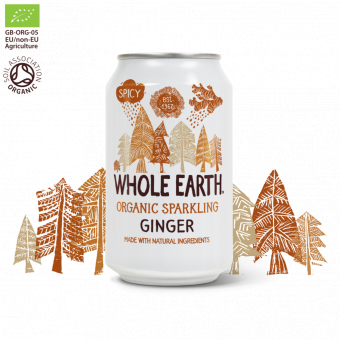 Ginger - Ekologisk Läsk - Whole earth
