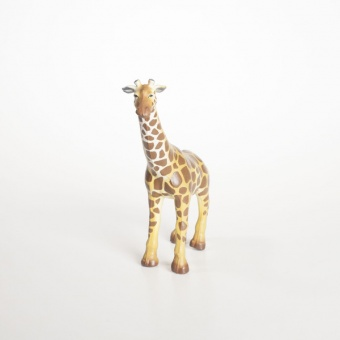 Giraff - Green rubber toys