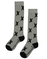 Kisses Knee High Socks - Turtledove London