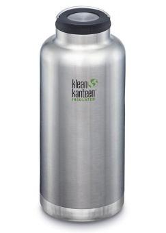 Termos TKWide 1900ml - Brushes Stainless - Klean Kanteen