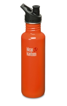 Classic 800 ml - Flame Orange - Klean Kanteen