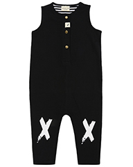 Knee Kiss Tank Dungaree - Turtledove London