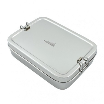 Rectangle Lunch Box with Mini container - A slice of green