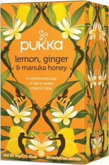 Te Lemon, Ginger & Manuka Honey - Pukka