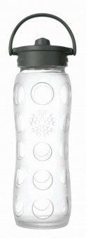 Straw Bottle 450 ml - Clear - Lifefactory