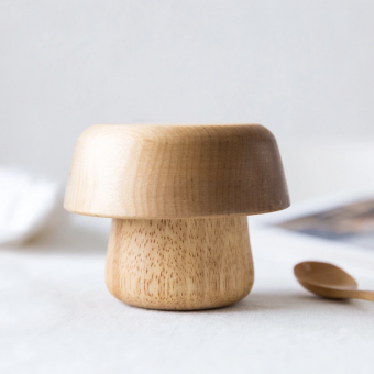Mushroom and Bowl set - Dove and Dovelet