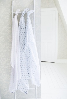 Muslin Little star - Blue - Littleheart