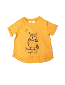 Boxy tee - Night Owl - Bumble & Bee