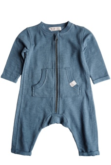 Otto Playsuit - Sea Blue - By Heritage