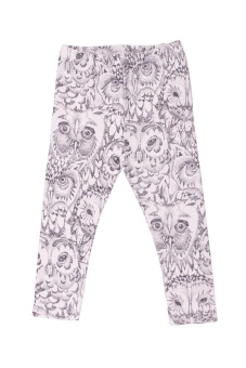 Owl Baby Leggings - Cream - Soft Gallery