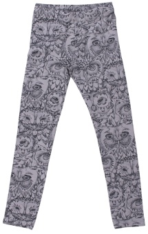 Owl Leggings - Drizzle - Soft Gallery