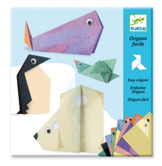 Origami paper friends - Polar Animals - Djeco