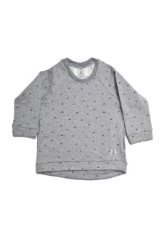 Arrows top - Grey - Bumble & Bee