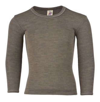 Tunn Long sleeved - Ull/Silke - Engel