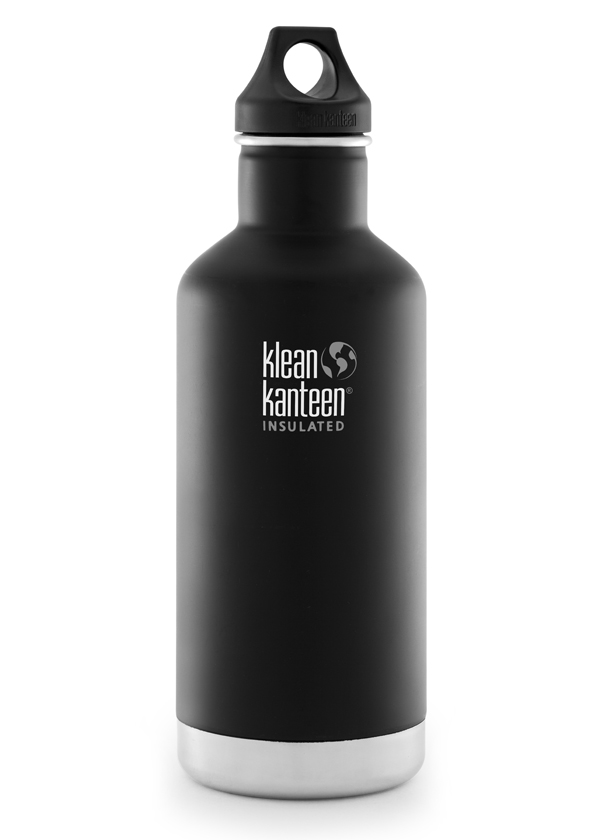 Termos Flaska 946 ml - Classic Insulated - Shale Black - Klean Kanteen