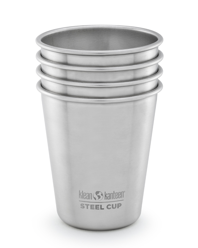 Steel Pint 296 ml - 4 pack - Klean Kanteen