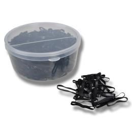 Flätningsband i silikon/gummi 500 st