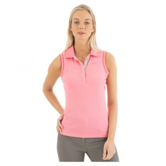 "ANKY Sleeveless Polo Shirt ""Rose"""