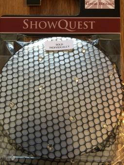 Showquest hårnät i svart nylon med stenar