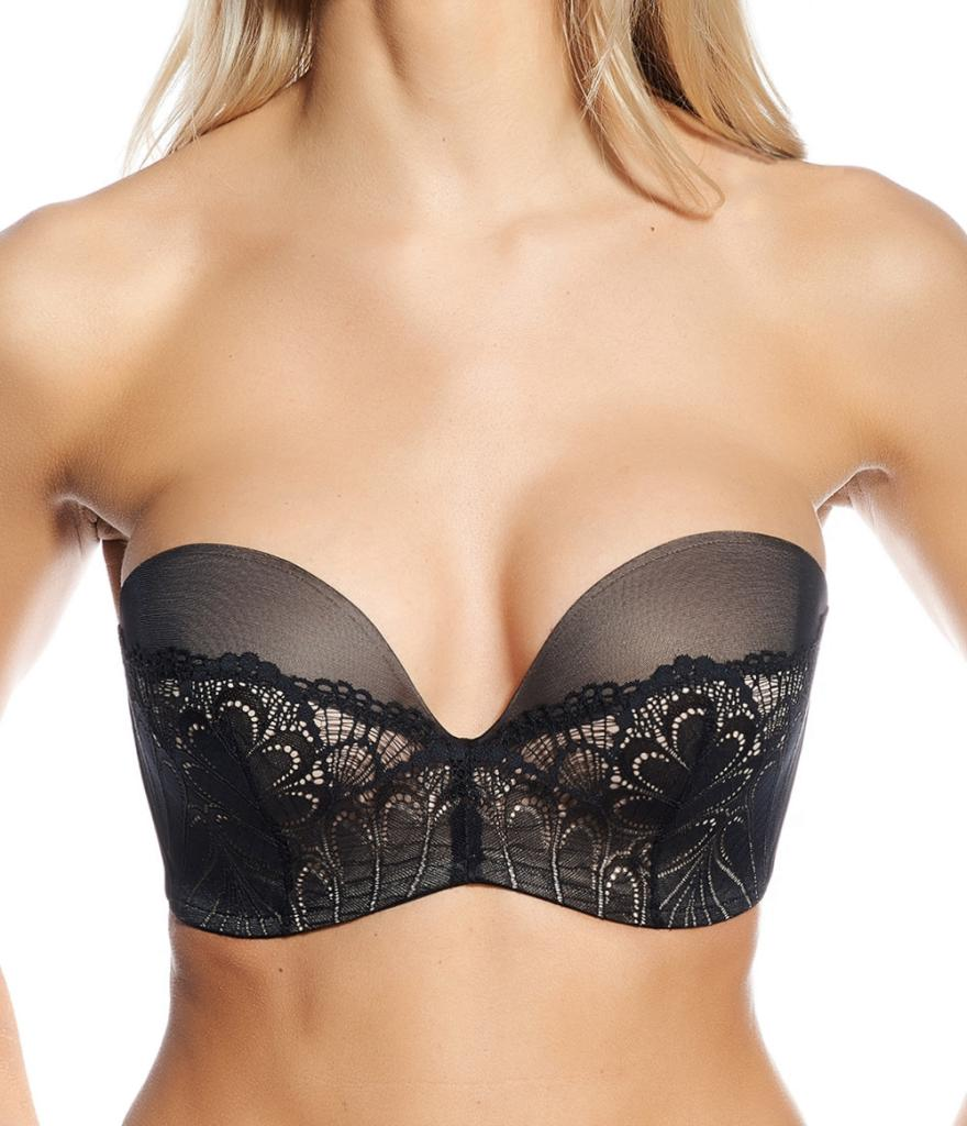 Wonderbra ultimate strapless lace - new & improved