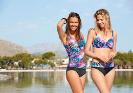 Damella Animal multicolour bikinibh